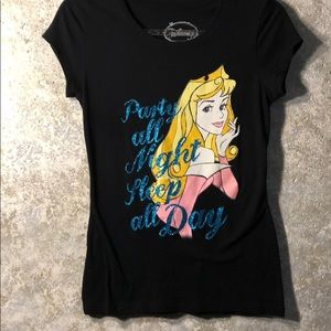 Disney forever princesses!  Size S party top cute!